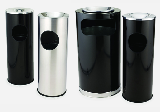 Rubbermaid Round Ash Bins