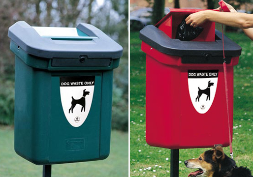 Retriever 60 Dog Waste Bin