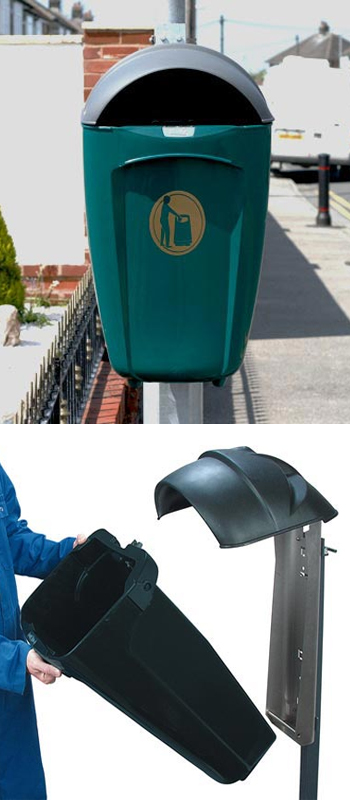 litter-bin-pole-mounted-super-trimline50hsl