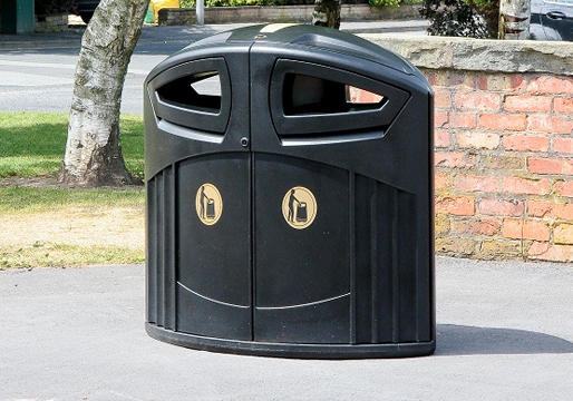 Nexus 200l Twin Litter Bin