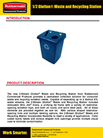 glutton-half-recycle-station-brochure