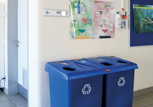 Mixed Recycling Stations