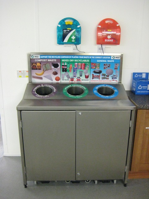 Mes Ireland Slim Jims Stainless Recycle Station