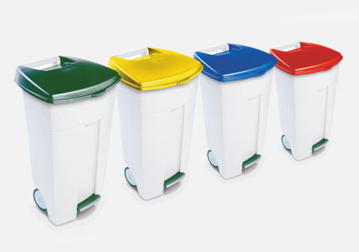 Eco Step-On Pedal Bins