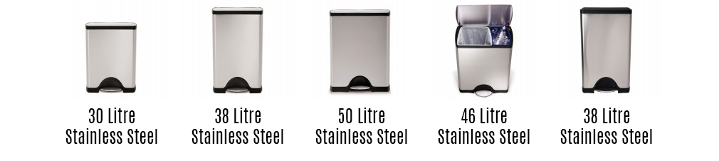 rectangular-stainless-pedal-bin-models