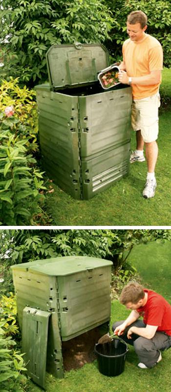 MES Ireland Thermo King Garden Composter