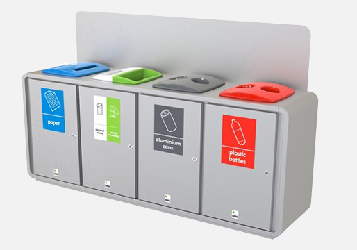 Office Recycling Stations