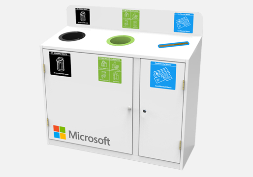 Mixed Waste Recycling Station