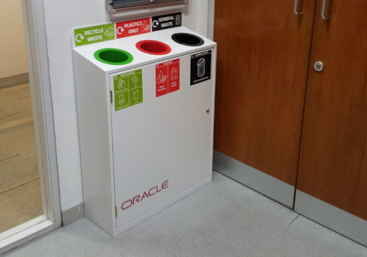 Ordinaire Slimline Recycling Station