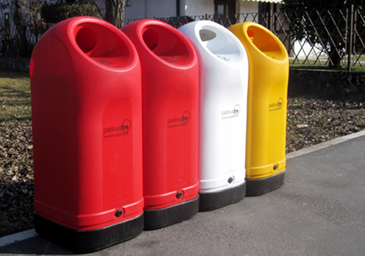 Balloon Recycle Waste Bins