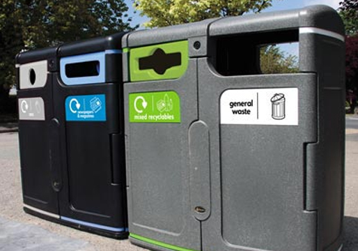 Gemini Dual Recycle Bins