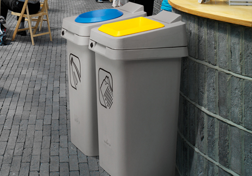 Re-SQUARE Recycle Bins