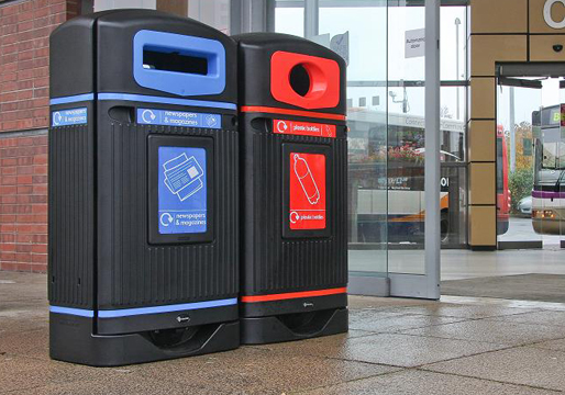 Streamline Jubilee Recycling Bins