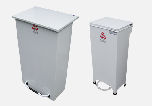 Fire Retardant Pedal Bins