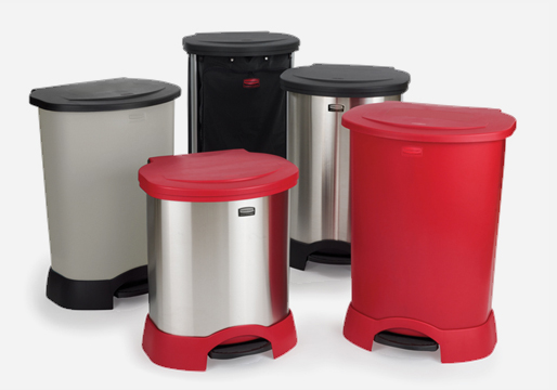 Rubbermaid Handsfree Pedal Bins