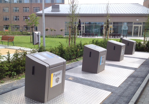 Wheelie Bin Cleaning >> MES Ireland - Underground Recycling Systems