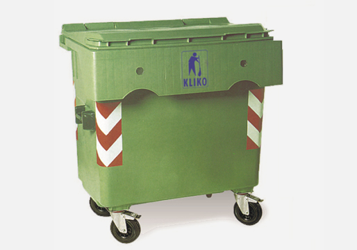 Wheelie Bins 4 Wheels